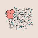 Bunny & the squirrel. Um projeto de Ilustração, Desenho, Ilustração digital e Ilustração infantil de Carolina García Ávila - 04.05.2017