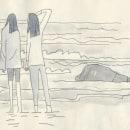 Dibujos en el bloc del verano. Um projeto de Desenho e Ilustração de AlexF - 30.08.2019