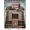 Cartel - Fiestas del barrio de Canillejas 2019 - Madrid. Um projeto de Design, Publicidade, Eventos, Colagem, Retoque fotográfico e Design de cartaz de Vanesa Sindecualo - 03.04.2019