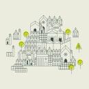 cartografía CDMX. Un progetto di Illustrazione, Design dell'informazione, Infografica e Illustrazione digitale di Brenda Battaglia - 04.09.2019