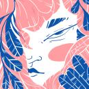 Ajena. Un proyecto de Ilustración, Diseño editorial e Ilustración digital de Denisse Beltrán - 09.09.2019