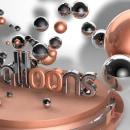 Balloons 3D. Un proyecto de Diseño, 3D, Diseño gráfico, Tipografía, Creatividad y Modelado 3D de Beatriz Pérez Matellanes - 09.09.2019