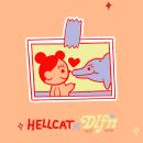 Love is Love  HELLCAT X Tony Delfino. Un proyecto de Ilustración, Br, ing e Identidad, Diseño de personajes, Serigrafía y Diseño de moda de Maria Elena Ramirez Ortega - 11.09.2019