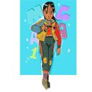 #Drawthisinyourstyle. Un proyecto de Ilustración, Ilustración digital e Ilustración de retrato de Maria Elena Ramirez Ortega - 13.09.2019