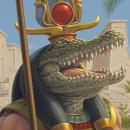 Zox Wristbands: Dioses de Egipto. Un projet de Character Design et Illustration numérique de Javier Martinez - 13.09.2019