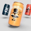 Bandit Brewery labels 2018. Um projeto de Ilustração, Design gráfico e Packaging de Aurélien Vervaeke - 17.09.2019