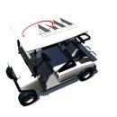 Carrito de Golf. Um projeto de 3D de Tommy Chireno - 27.09.2005