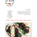 Proyecto: Go Vegan. A Cooking project by Yolanda Sanjuan - 09.19.2019
