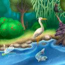 Biodiversitat i entorn del riu Ter. Um projeto de Ilustração, Ilustração digital e Ilustração infantil de Jacob C - 15.01.2019