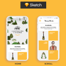 Diseño de Interfaces con Sketch: Portfolio. A Design project by María Novoa - 19.09.2019
