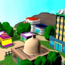 Pueblo Lavanda Pokemon. Un proyecto de 3D de Andrea Navas Gómez - 13.06.2018