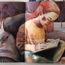 Ilustración Editorial . Un proyecto de Ilustración, Bellas Artes, Dibujo a lápiz, Ilustración de retrato e Ilustración infantil de Ana Santos - 01.03.2019