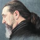 Retrato realista con lápices de colores. II. Un proyecto de Dibujo de Retrato de Rosa de Gabriel - 30.07.2018