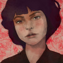 She. A Digital illustration project by Concha Ortega - 09.28.2019