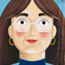 Mi Proyecto del curso: Ilustración digital con Procreate. Un proyecto de Ilustración e Ilustración de retrato de María Novoa - 29.09.2019