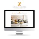 Identidad Visual, Web. Natalia Zubizarreta Interiorismo. Un proyecto de Br, ing e Identidad, Diseño gráfico, Diseño Web y Diseño de logotipos de Kënsla - 30.03.2018