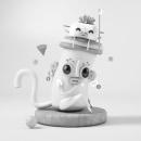 Mi Proyecto del curso: Introducción exprés al 3D: de cero a render con Cinema 4D. A Design, Illustration, 3D, Digital illustration, and Design 3D project by Maria Isabel Díez - 09.30.2019
