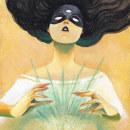 Brujas . Un projet de Illustration numérique, Peinture acr , et lique de Diana Alderete - 04.10.2019