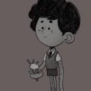 Octopus Kid. Un proyecto de Diseño de personajes e Ilustración digital de Iker J. de los Mozos - 04.10.2019