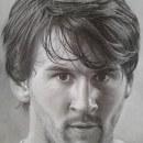 Mi Proyecto del curso: Retrato realista con lápiz de grafito. A Pencil drawing project by Angel Gonzalez - 10.08.2019