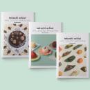 Pastelería Ochiai · Branding, diseño editorial, diseño de objeto portamenú y rincones de la pastelería. Un progetto di Product Design , e Progettazione editoriale di Paola Pardini - 09.10.2017