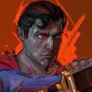 Bad Superman. A Concept Art, and Digital illustration project by Ismael Alabado - 10.13.2019