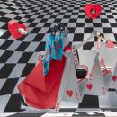 Vitrina para Hermès, 2018 Royal Love. Un proyecto de Creatividad y Diseño de Kiosco Creativo - 15.10.2019