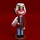 Jack Torrance. Un progetto di 3D, Modellazione 3D , e Character design 3D di Asdrúbal Morales Quirós - 18.10.2019