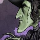Ding dong, the Witch is dead!. Un proyecto de Dibujo e Ilustración digital de Mariluz Parra Sánchez - 27.10.2019