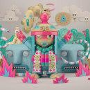 Pop Kai. Um projeto de Design, Ilustração, 3D, Concept Art e 3D Design de Martiniano Garcia Cornejo - 26.08.2016