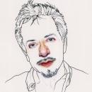Retratos Escritores. Um projeto de Ilustração de retrato, Desenho de Retrato e Desenho realista de Jacob C - 31.10.2019