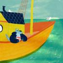 Silver, la Loba de Mar. A Illustration und Kinderillustration project by Cristina Martín Osuna - 18.11.2019