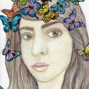 Mi Proyecto del curso: Retrato ilustrado en acuarela. Um projeto de Desenho de Retrato de María Eugenia Barrios - 18.11.2019
