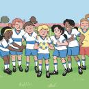 Libro de texto.. Un proyecto de Ilustración infantil e Ilustración digital de alexis aldeguer - 25.11.2019
