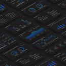 Banking Dashboard. Um projeto de UI / UX, Web design, Mobile design e Design digital de Lola Muñoz - 07.11.2019