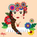Mi Proyecto del curso: Ilustración vectorial con estilo. Um projeto de Ilustração e Ilustração vetorial de Alejandra Cárdenas - 28.11.2019