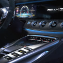 AMG-GT-63S-INTERIOR. A 3D, and Digital photograph project by Alberto Luque - 12.05.2019