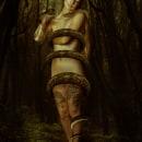 """Mi Proyecto del curso: Retrato fotográfico pictórico """"Lilith - John collier (1887). Um projeto de Fotografia, Fotografia de retrato, Fotografia digital e Fotografia artística de laura Sánchez García - 05.12.2019"""