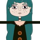 Character Design - Manuela. Um projeto de Ilustração, Design de personagens, Design de jogos, Comic, Criatividade, Videogames, Concept Art e Design de videogames de Victor Manuel Villalta Barbero - 06.12.2019
