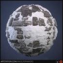 Stone Floor with Snow. Un proyecto de 3D y Diseño de videojuegos de Angel Fernandes - 09.12.2019
