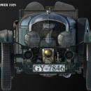 Bentley Blower 1929. Un proyecto de 3D, Artesanía, Cine, Animación 3D, Modelado 3D y Concept Art de enriquepbart - 10.12.2019