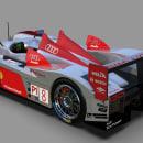 Audi R10. Un proyecto de 3D, Animación 3D y Modelado 3D de enriquepbart - 10.12.2019