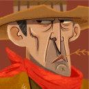 Cowboys. Un proyecto de Diseño de personajes, Ilustración e Ilustración digital de Primo Pérez - 11.12.2019