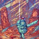 Gate of Truth Spirits Collision. Um projeto de Ilustração, Direção de arte, Design de personagens, Design de cenários e Ilustração digital de Christian Benavides - 12.12.2019