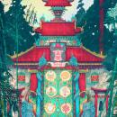 The 8eight Jewels Gate. Um projeto de Ilustração, Direção de arte, Design de cenários e Ilustração digital de Christian Benavides - 12.12.2019