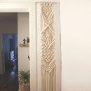Mi Proyecto del curso: Introducción al macramé: tapiz XL. Un proyecto de Artesanía de Valeria Couble Juillet - 13.10.2019
