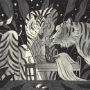 Encuentros Salvajes. Un proyecto de Ilustración, Diseño de personajes y Dibujo de Luna Pan - 16.12.2019