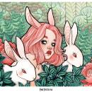Mi Proyecto del curso: Animalario botánico: acuarela, tinta y grafito. Um projeto de Ilustração, Desenho, Ilustração de retrato e Desenho artístico de Eva Justicia Roldan - 22.12.2019