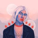 ILUSTRATION / collection II . Un proyecto de Ilustración, Moda, Ilustración digital e Ilustración de retrato de danny debruce - 23.12.2019