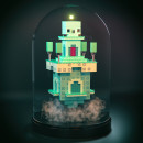 Mi Proyecto del curso: Creación de mundos 3D en miniatura con Procreate y Cinema 4D. Um projeto de 3D Design, Ilustração e Modelagem 3D de Sergio Casado González - 29.12.2019